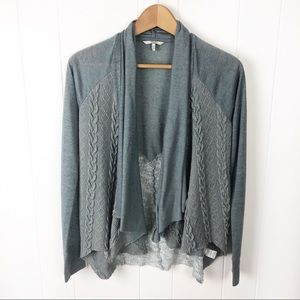 Bke•Open Front cardigan sweater